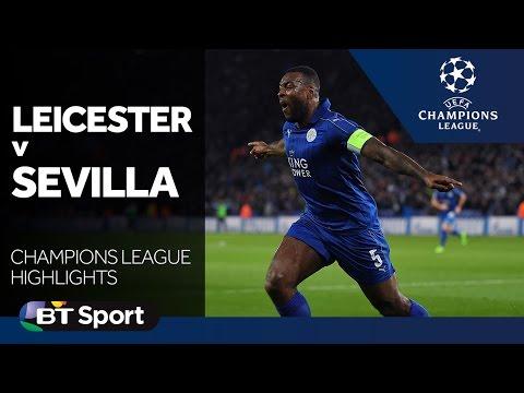 Leicester 2-0 Sevilla (agg: 3-2)