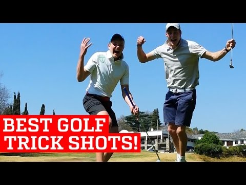 BEST GOLF TRICK SHOTS & PUTTS